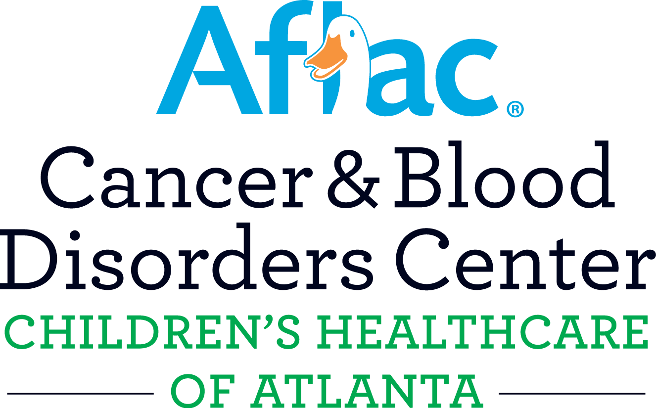 Aflac Cancer Center logo - color cmyk