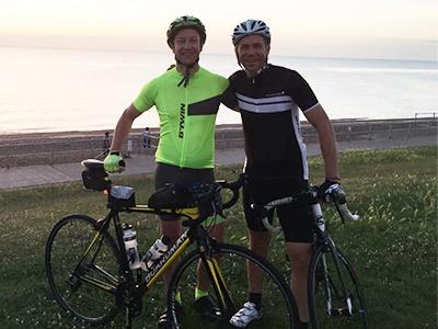 Matt and Ross Chase the Sun and raise £5 dbc7e0bbf