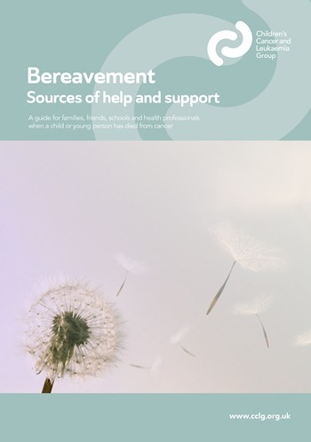 Bereavement - sources of help and support (Apr 15)