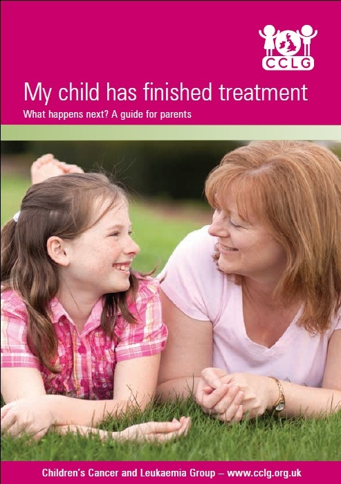 My child has finished treatment (Mar 14)